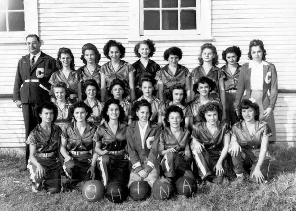 womens basketball antique vintage