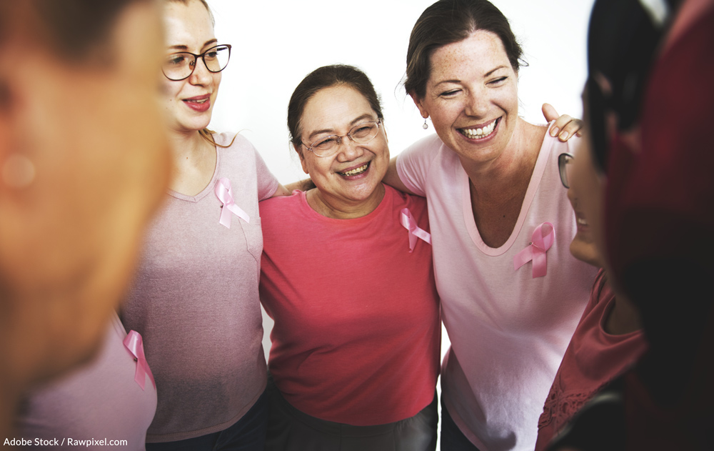Breast cancer affects one in eight women in the world