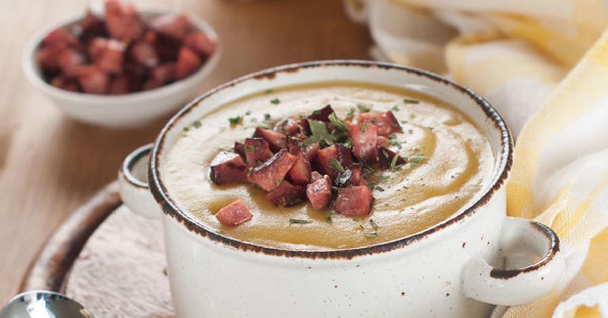 ham and leek soup