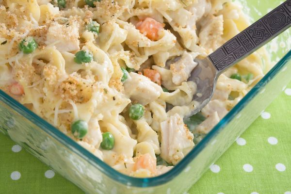 Classic Comfort Food Recipe Thick And Creamy Chicken Noodle