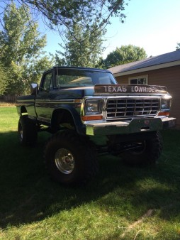 This is my 76 f250, this one I am building to keep, she is getting a 12v Cummins with an Allison MT643 transmission & I am currently building Dana 80 front & rear axles.