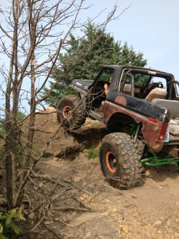 2 1/2 ton bronco decommissioned for quite some time, back on the trail as of Saturday.