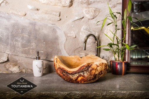 my new collection of wood sink is starting, by Toutanbwa