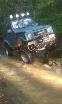 Hot Rod's Zuki in Bull Run Creek
