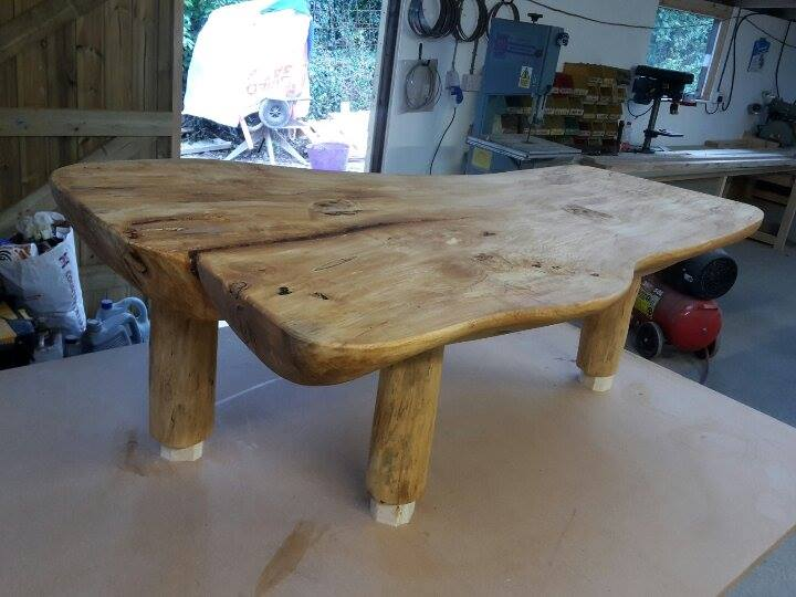 Coffee table that I have just finished making.