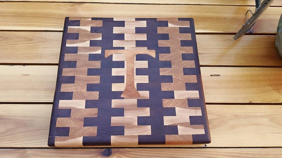 Cutting Board I made for a friend.