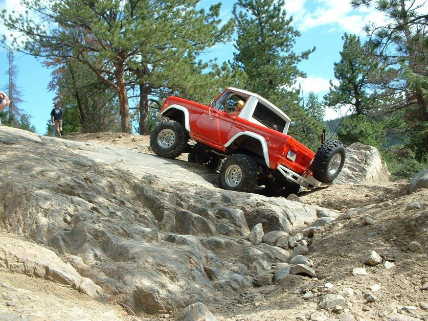 '75 Bronco during 2011 trip for a great day on Colorado trails.