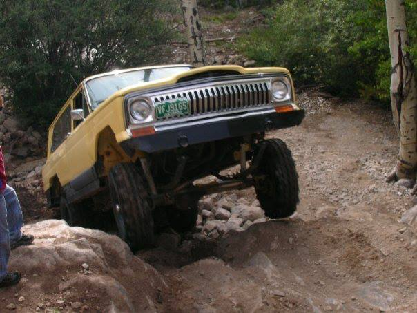 My 79 Cherk wheels in the air on Grizzly Trail