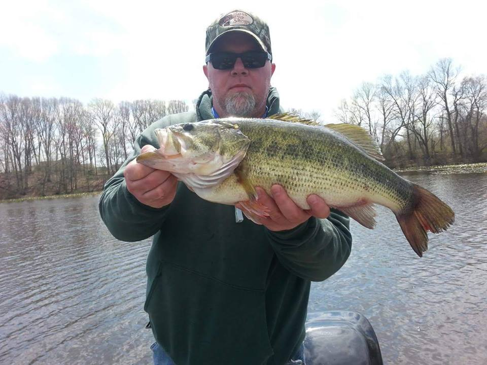 6lbs Delaware bass