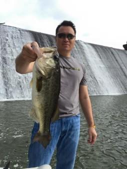 From Bae Simalayvong: Big bass on 6lb test! Lake Hickory, NC
