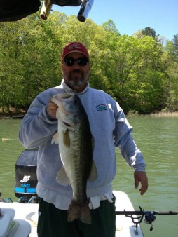 From Chip Parker: 8lber on Lake Lanier