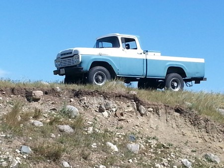 From Marlin Doc Entze; My 1959 F250 4X4 223/6 Golden Valley ND