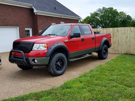 From Doug Becerra: My 2006 FX4 with a 5.4 this is my 5th F-150 love my truck
