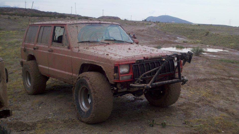 From Gabriel: Wouldn't you rather be out in the mud than at work today?!