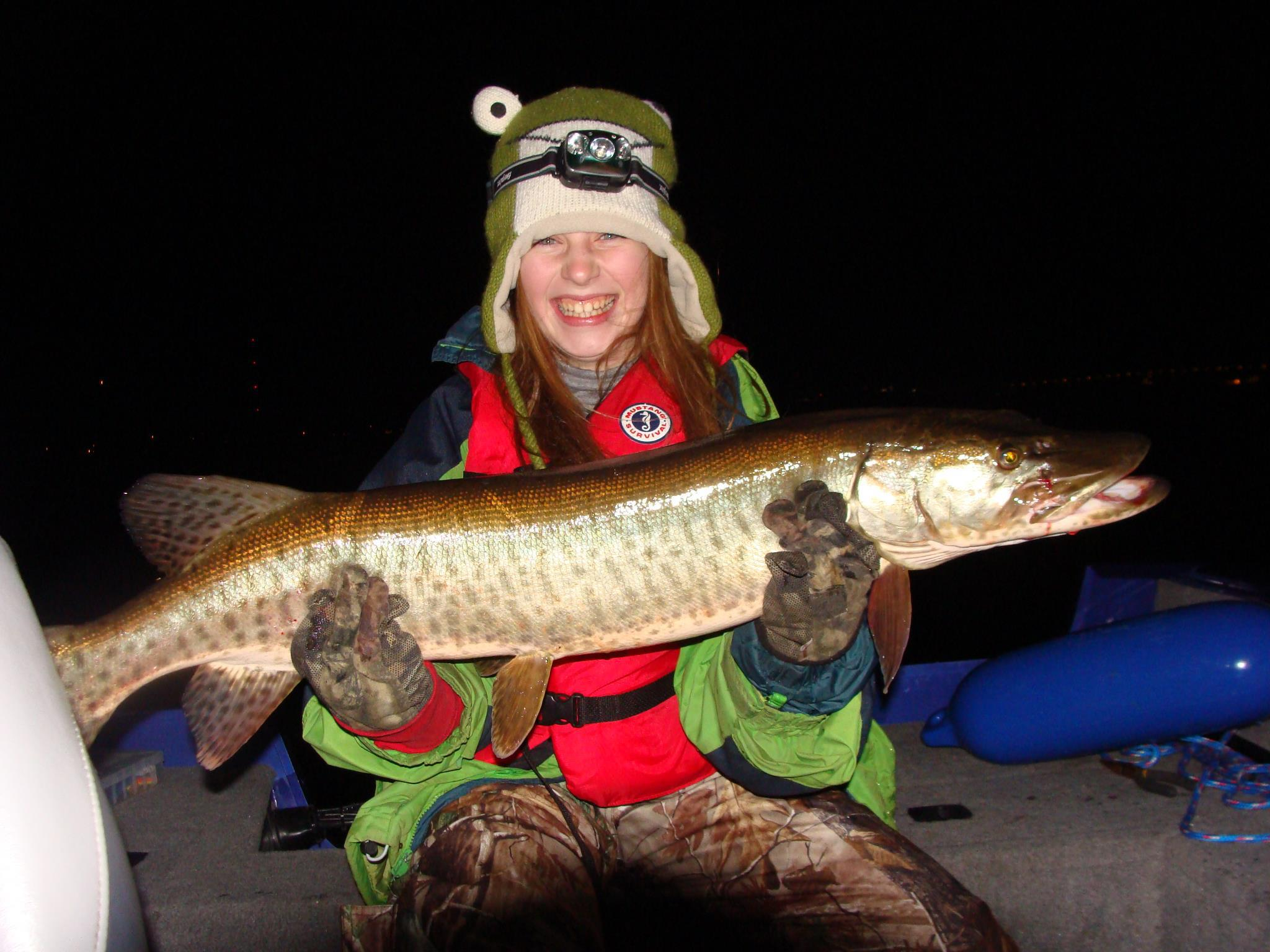 From Jeff: Check out the size of this Muskie