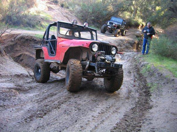 Here's our reader Jerimiah trail riding in Hollister Hills.