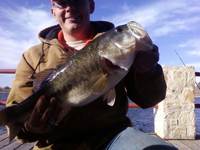 From Kurt: Looks to be a bit over 8lbs!