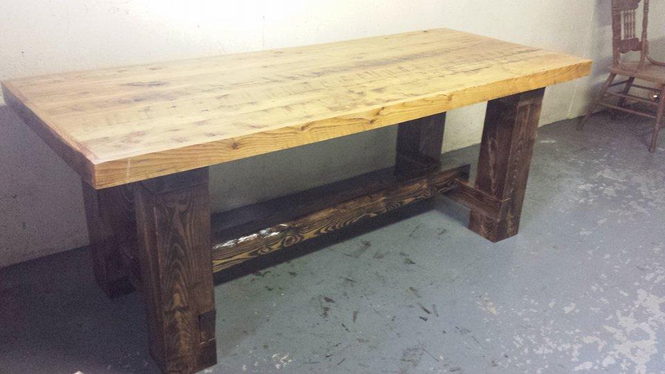 From Pebbles McNeill: Juniper dining table