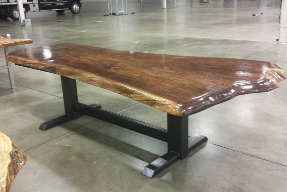 From Russell Martin: a 58 inch wide walnut