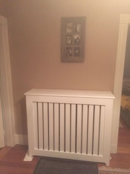 From William Harris Philpot:  Forced hot water heat covers for a client with a one year old..basic but classic