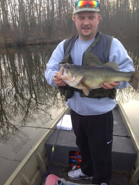 From Christopher Keefer: 5lbs 12 oz in Pa