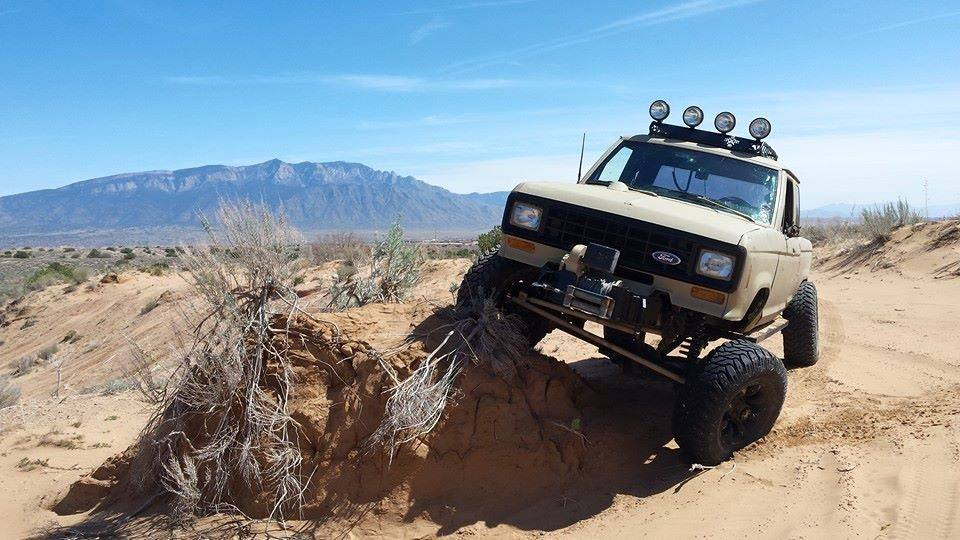 From Travis H: My 3/4 ton sased 86 ranger.  Rio Puerco, New Mexico