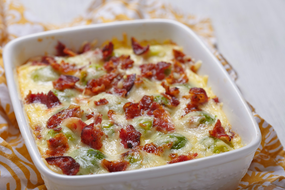 Creamy Brussel Sprout Recipes With Bacon