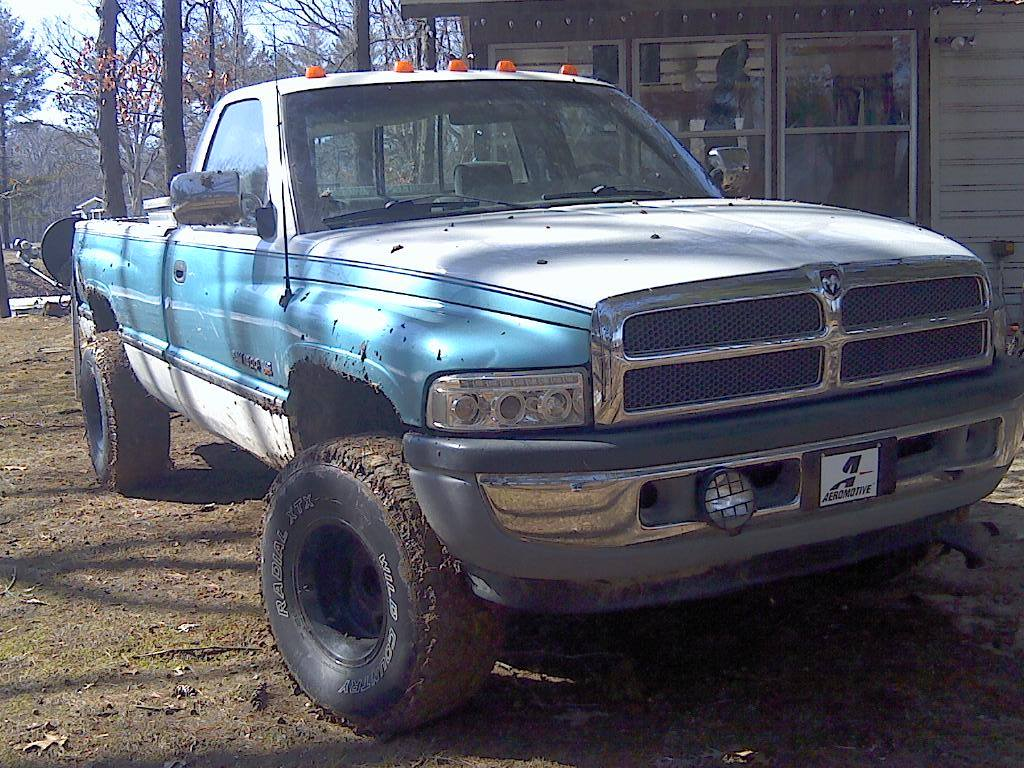 From Kevin Hall: My 96 Dodge...Puddle jumper