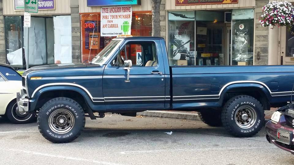 From Mark Ohara Conlen: My newly restored 1984 Ford F-250 4X4
