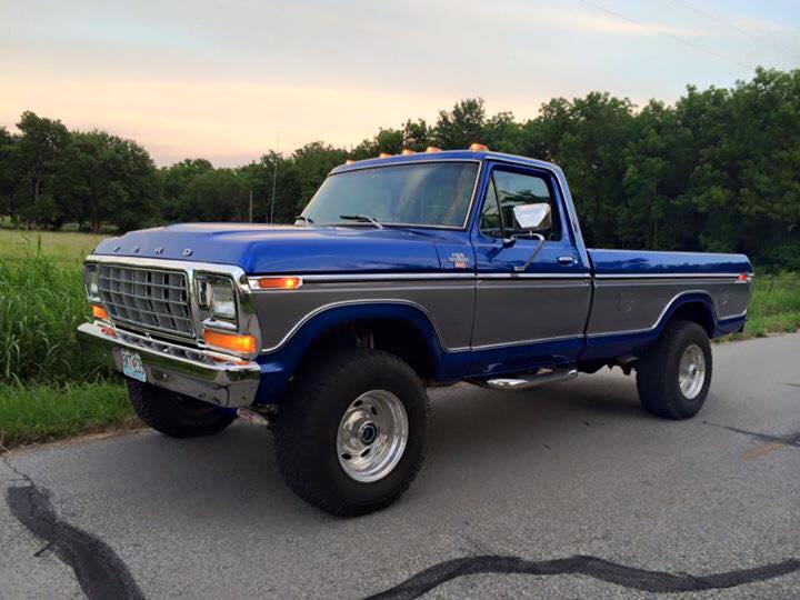 From Pacer Wacer:  1979 F250. 460 motor