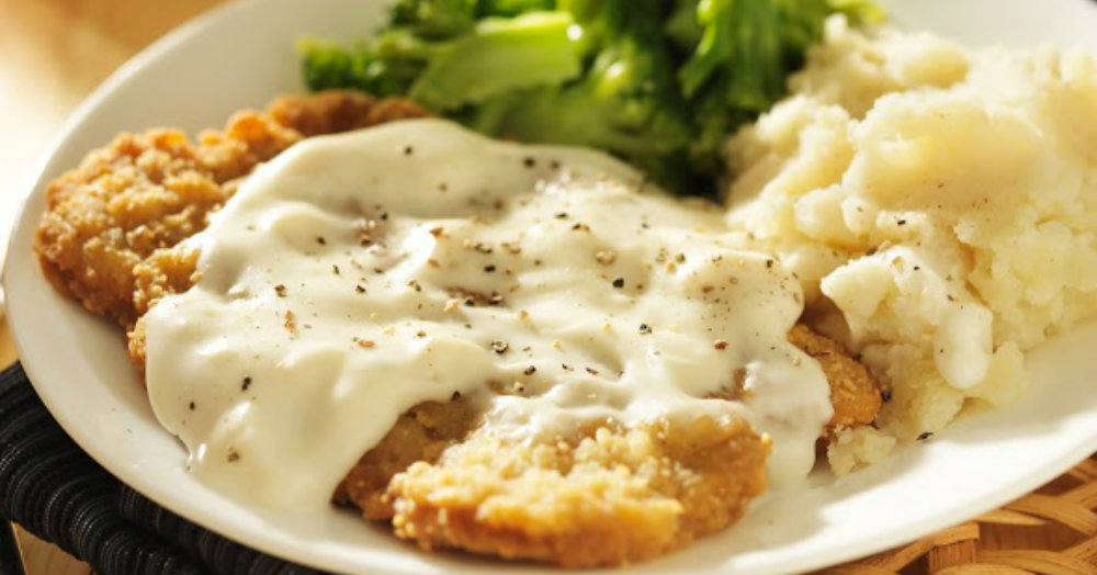 Image result for chicken fried steak  dinner