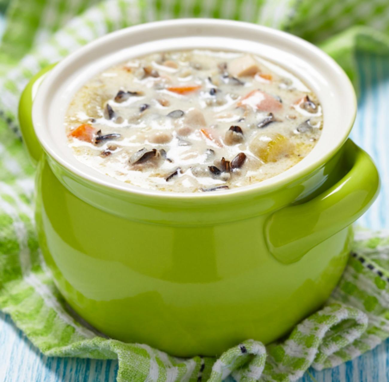 Chicken Wild Rice Soup 1