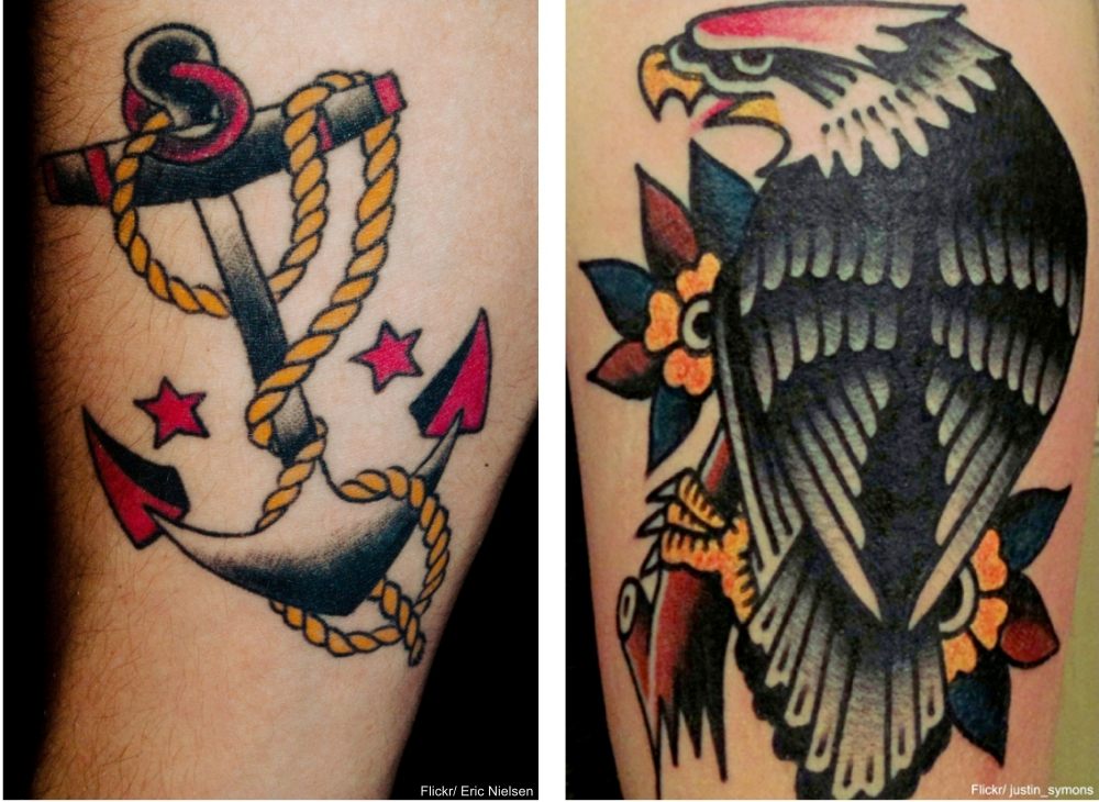 Sailor Jerry Inspired Tattoos