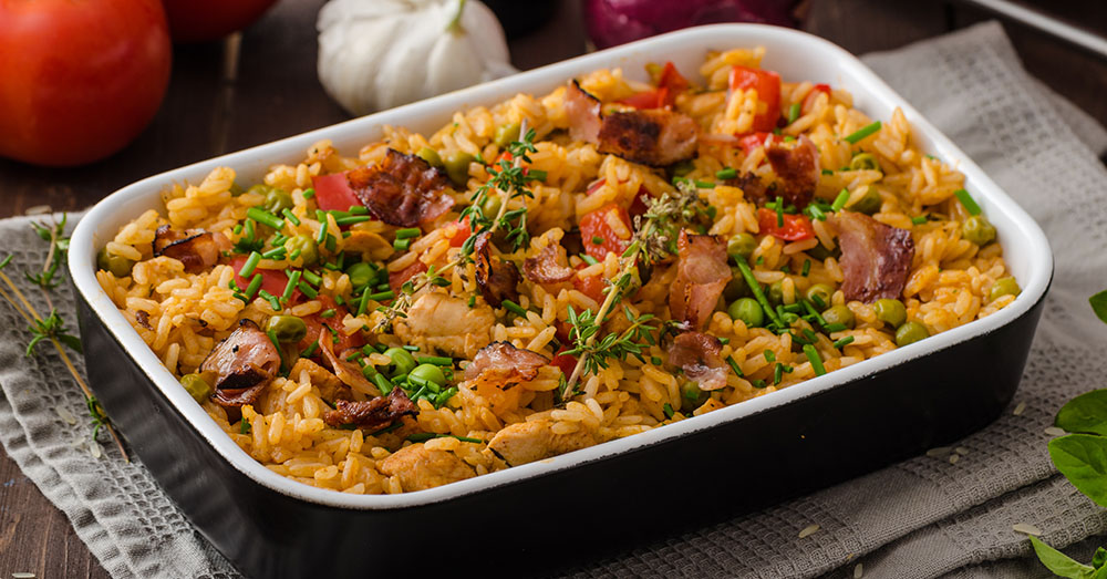 Spicy Cajun Chicken And Rice Casserole  12 Tomatoes-9438