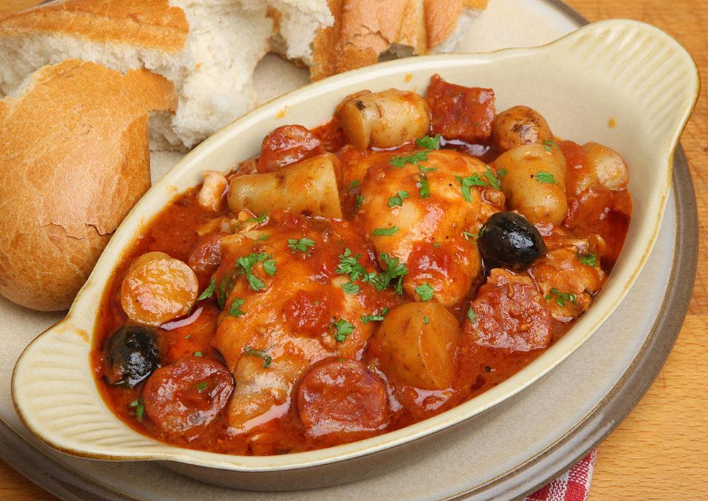 Chorizo Chicken Stew