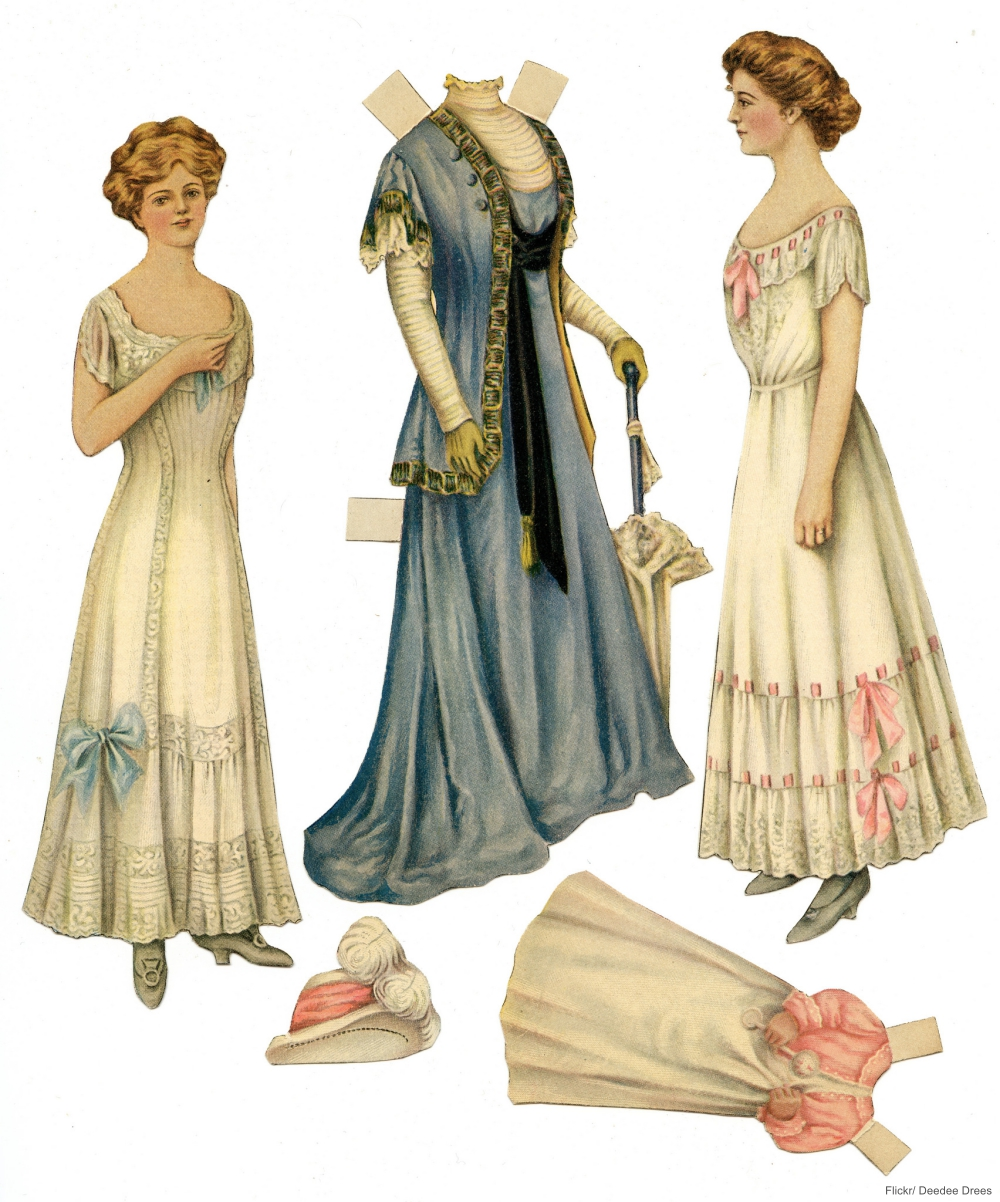 Victorian Lady Paper Doll