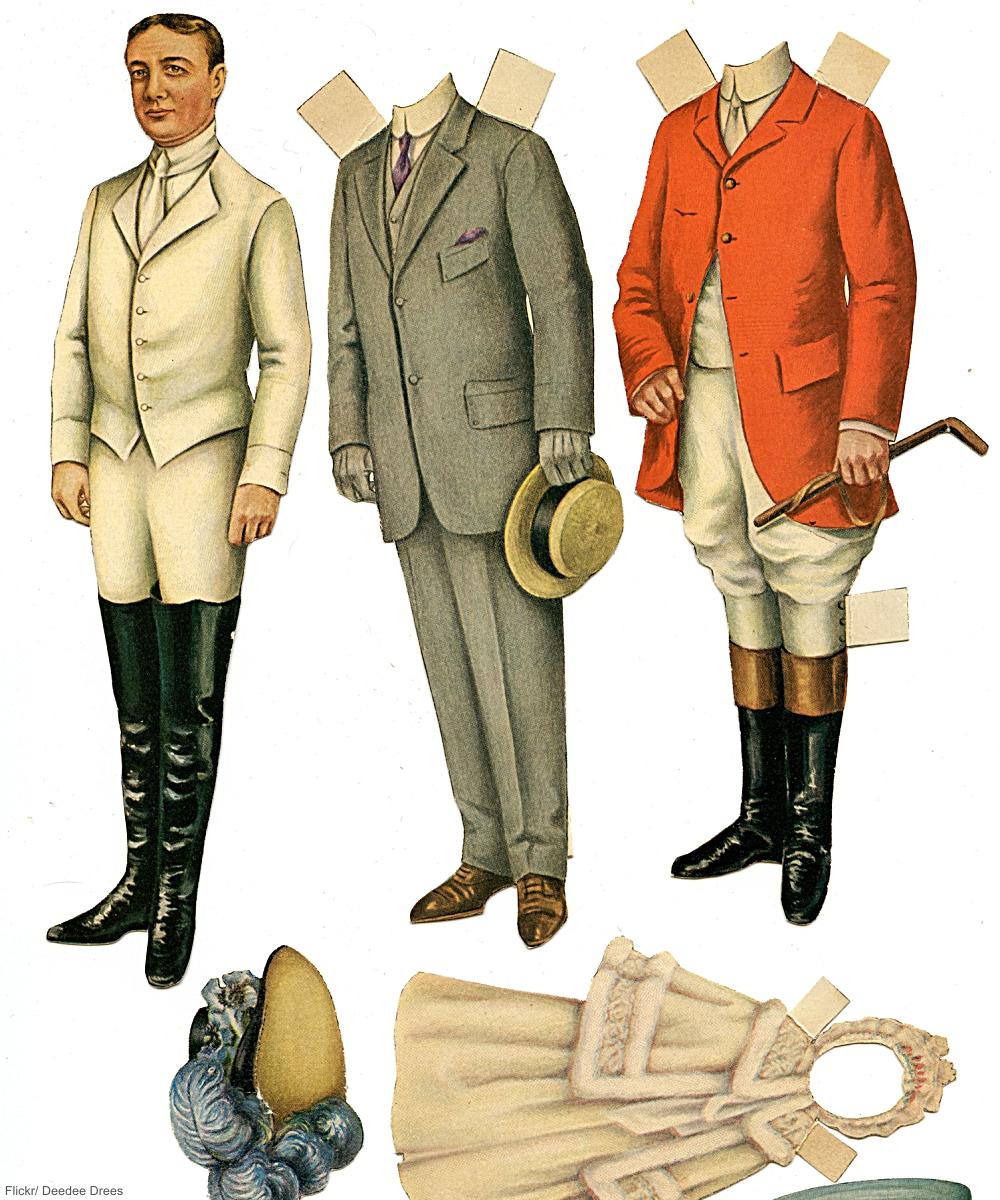 Victorian Gentleman Paper Doll