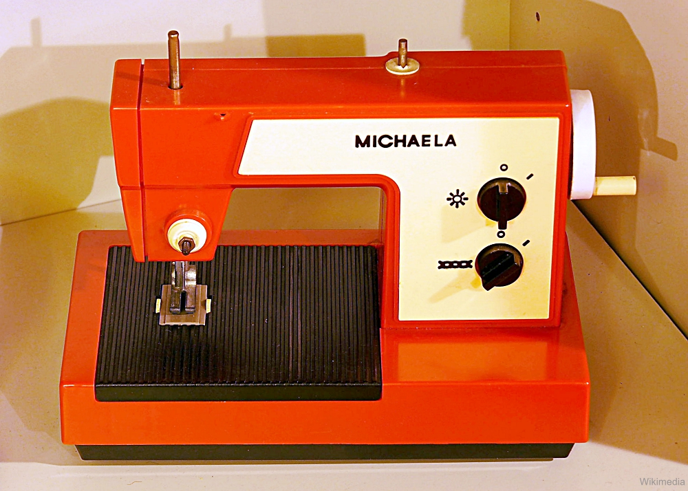 Michela Vintage Toy Sewing Machine