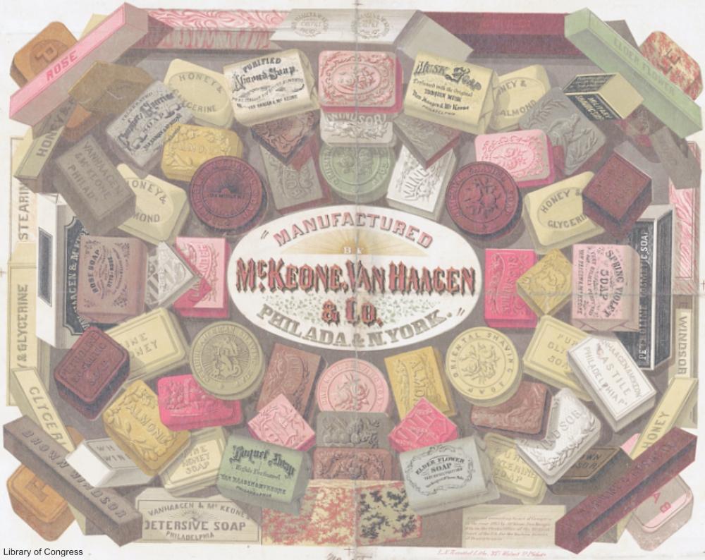 Antique Bar Soap Advertisement