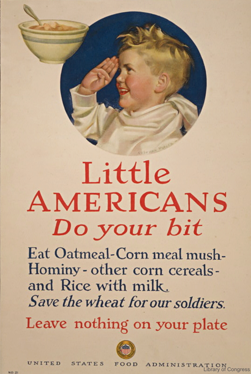 WWI US Government Advertisement