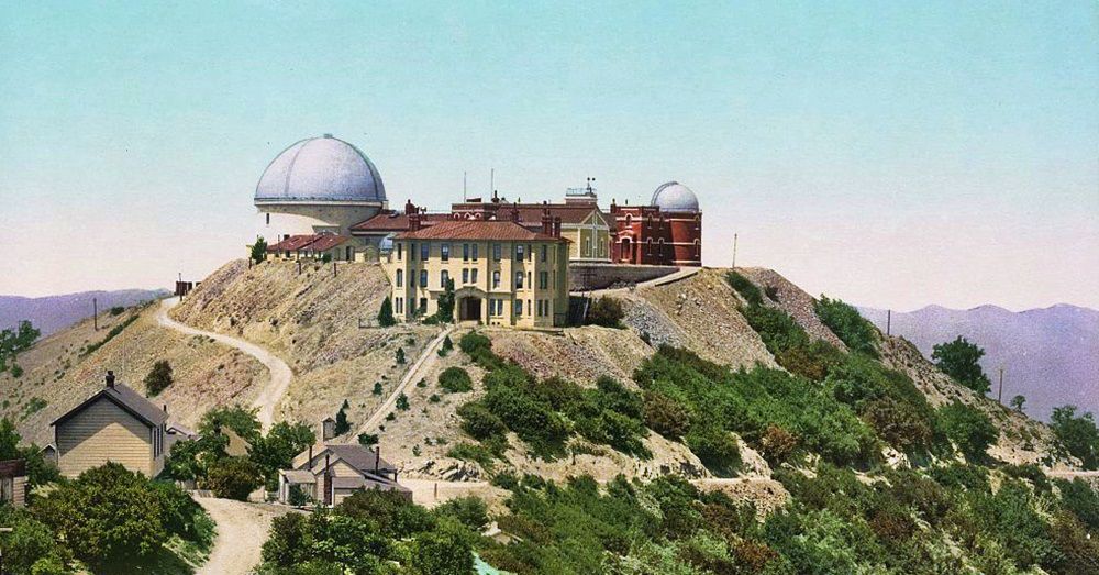 Lick Observatory, Hamilton Mountains. Credit: Detroit Photographic Co. via Library of Congress