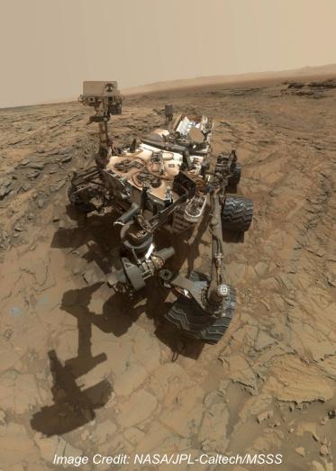 Vertical Curiosity Mars Rover