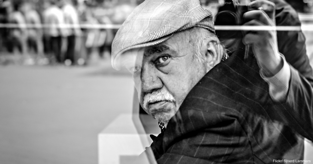 Elderly Man in Flat Cap
