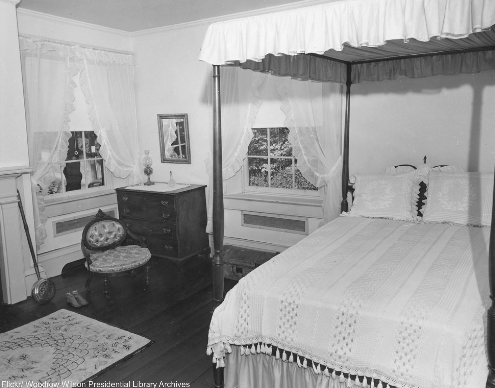 Front Bedroom of the Manse