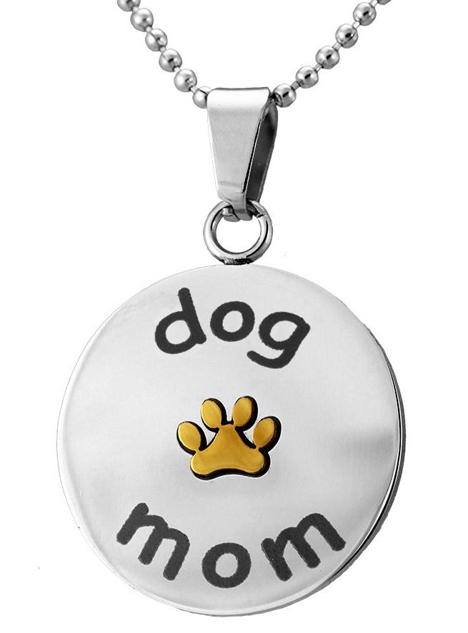 DogMomPawPrintNecklace