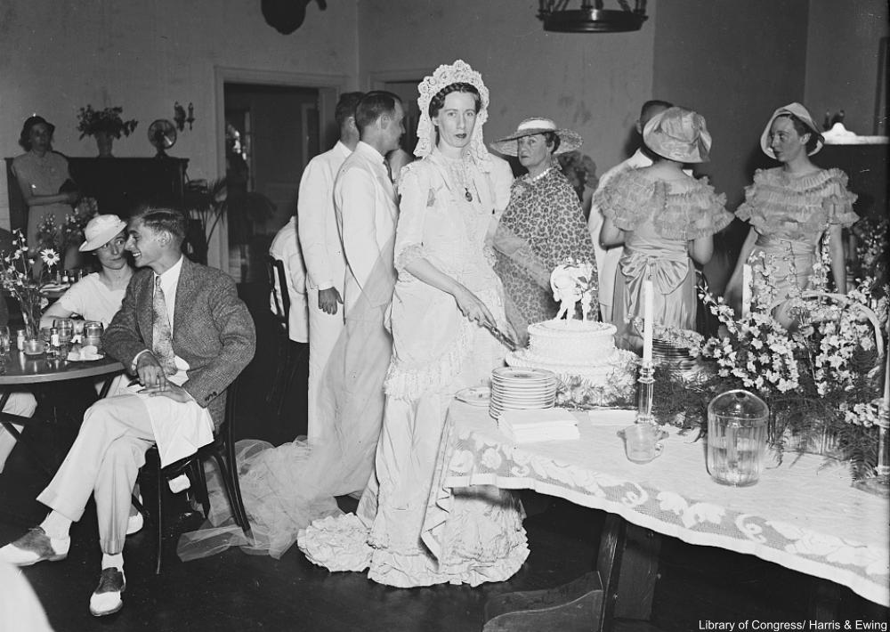 1935 Wedding