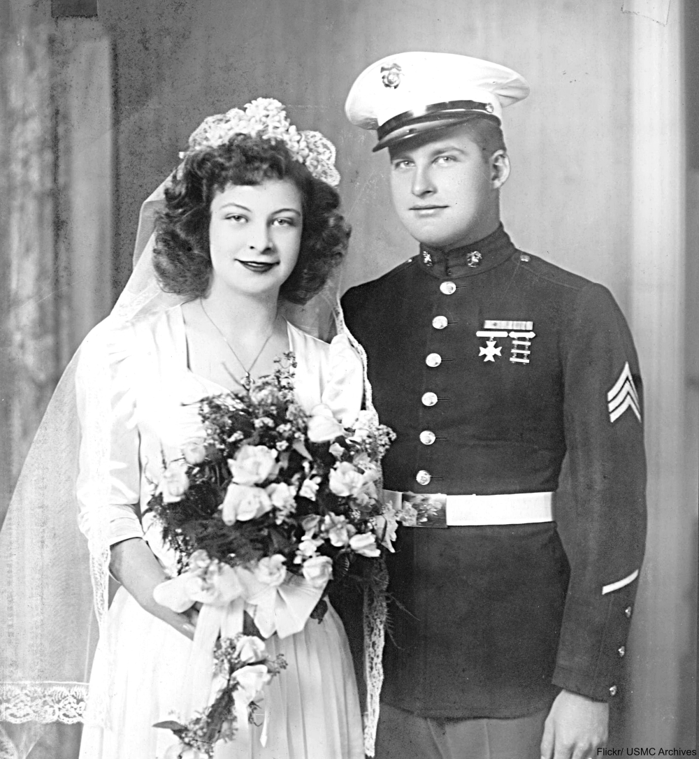 1944 Wedding Marine Uniform