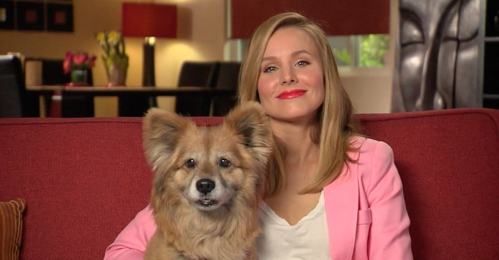 Kristen Bell and Lola