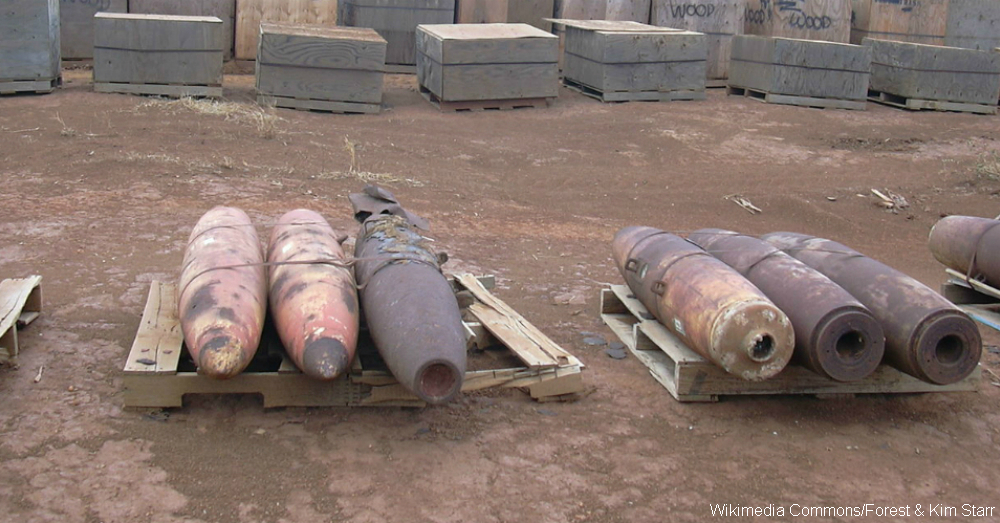 Unexploded Bombs