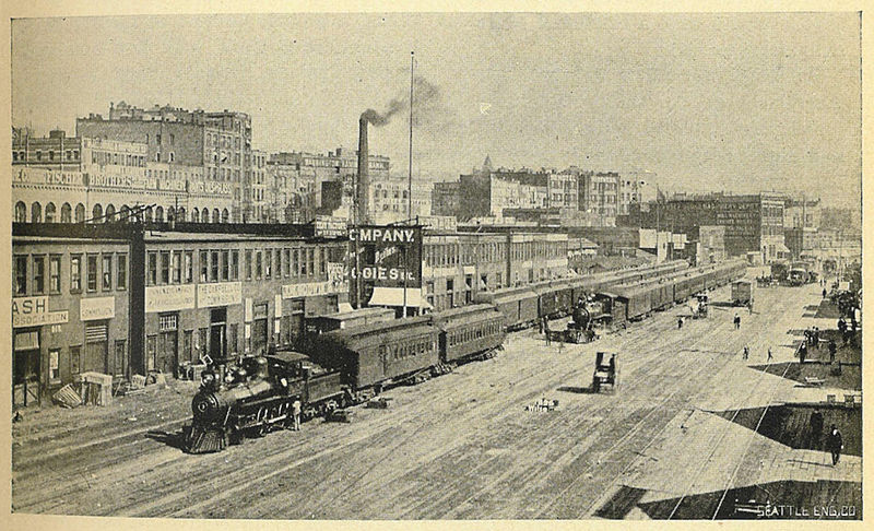 Old Photos Tell The Story Of A City Seattle Dusty Old Thing